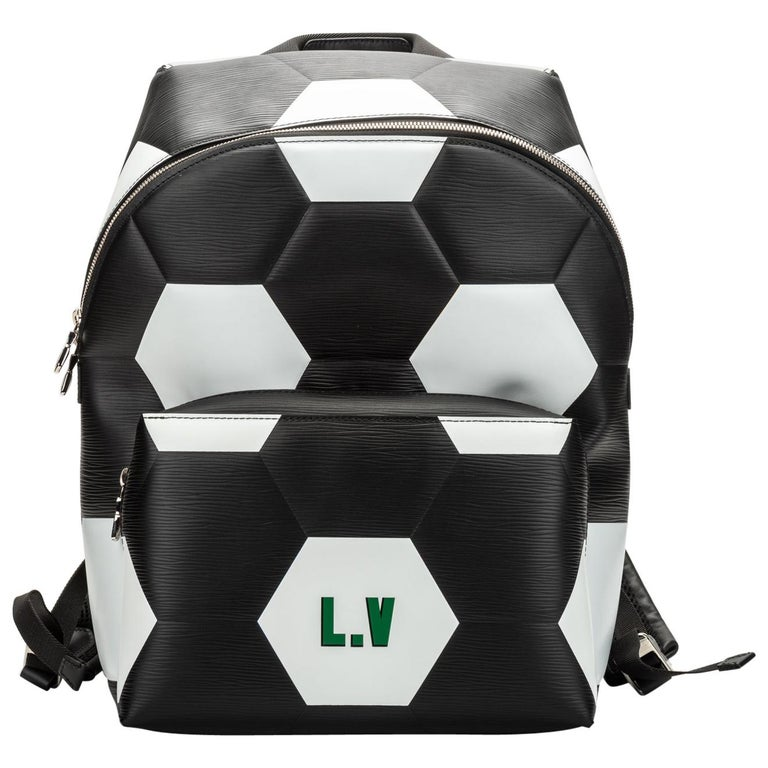 Louis Vuitton FIFA Black Backpack, 2018