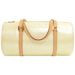 Louis Vuitton Bedford Perle Vernis Leather Hand Bag