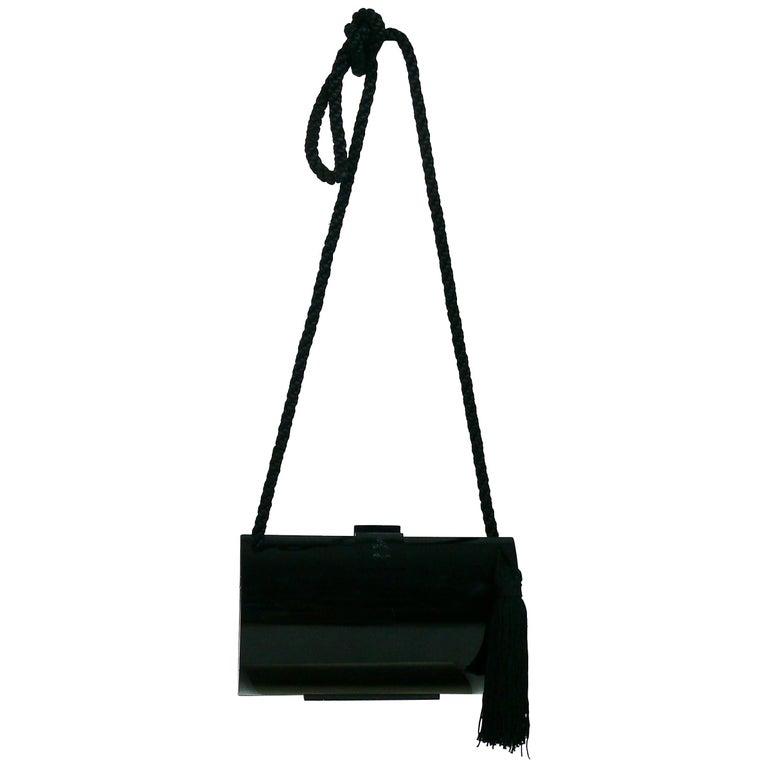 d3def4bac8 Lanvin Vintage Tassel Minaudiere Shoulder Bag For Sale at 1stdibs