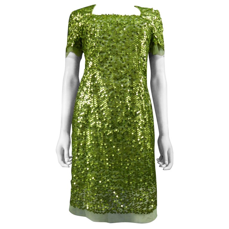 Glitter Dress, Circa 1990 For Sale