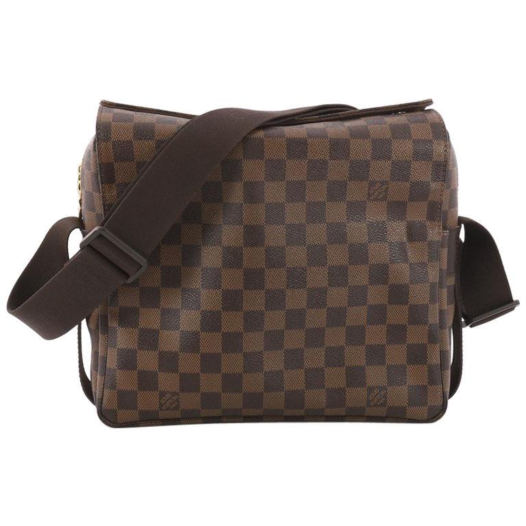 6e33345fd92d Louis Vuitton Naviglio Handbag Damier at 1stdibs