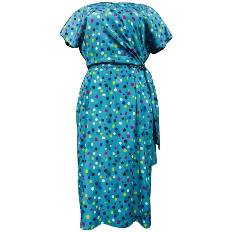 Pierre Balmain Dress, Circa 1980 For Sale