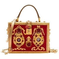 Dolce & Gabbana Embellished Box Bag