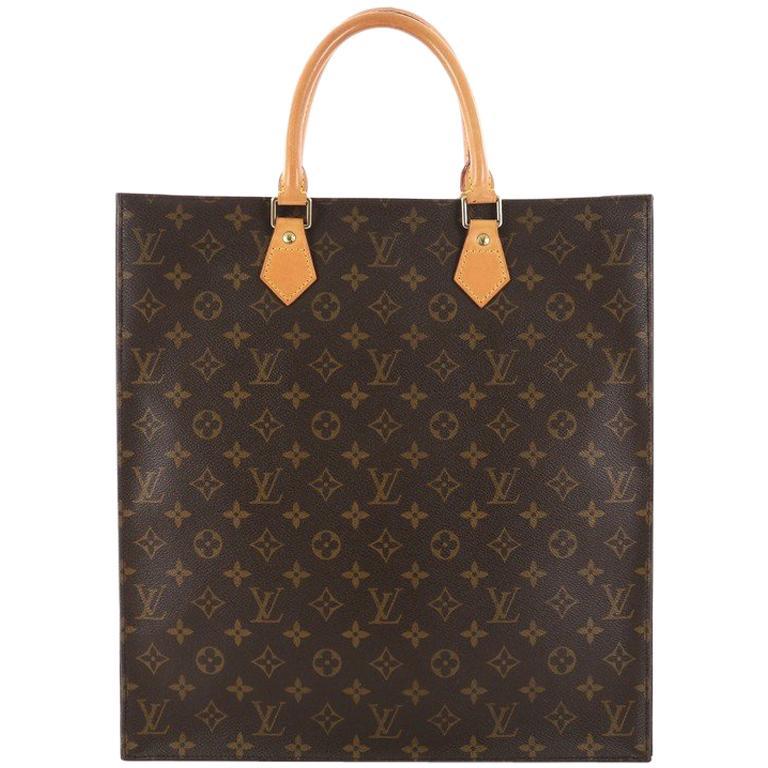 Louis Vuitton Sac Plat Handbag Monogram Canvas GM at 1stdibs 88133c39d7340