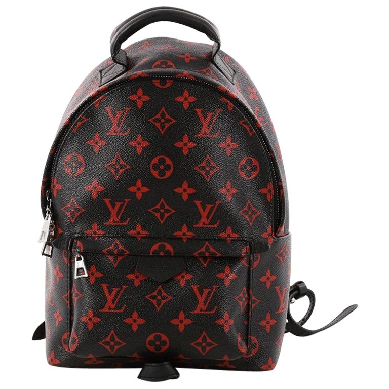 1b802a013a036 Louis Vuitton Palm Springs Backpack Limited Edition Monogram Infrarouge PM  For Sale
