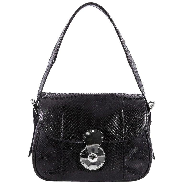 Ralph Lauren  Ricky  Neon Green Shoulder Bag For Sale at 1stdibs b58b99f15b