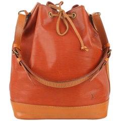 Louis Vuitton Vintage Tan Epi Leather Noé Shoulder Bag