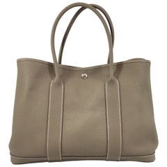 Hermes Togo Garden Party Bag 36 Etaupe, 2013