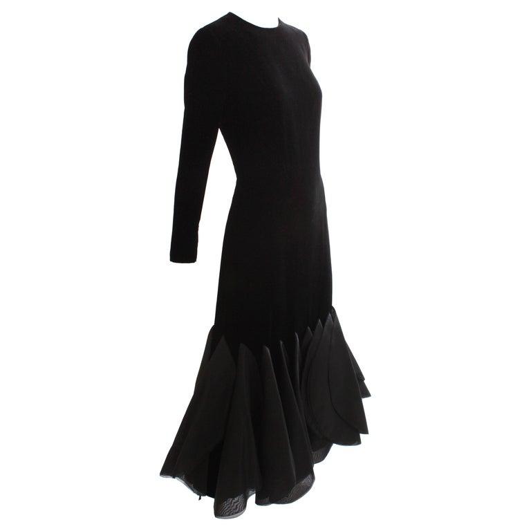 2811e16e473 Pierre Cardin Paris Space Age and Futurism Rocket Dress Evening Gown ...