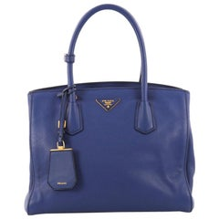 Prada Convertible Open Tote Vitello Daino Medium
