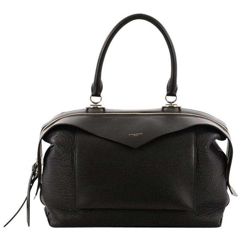 HomeFashionHandbags and PursesShoulder Bags. Givenchy Sway Bag Leather  Medium For Sale 82ecd80476f8c