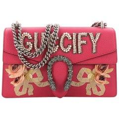 Gucci Dionysus Handbag Embellished Leather Small