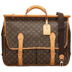 Louis Vuitton Brown Monogram Sac Kleber