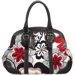 Dolce&Gabbana White x Multi Miss Romantique Flower Printed Shoulder Bag