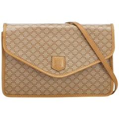 Celine Brown  Macadam Envelope Shoulder Bag