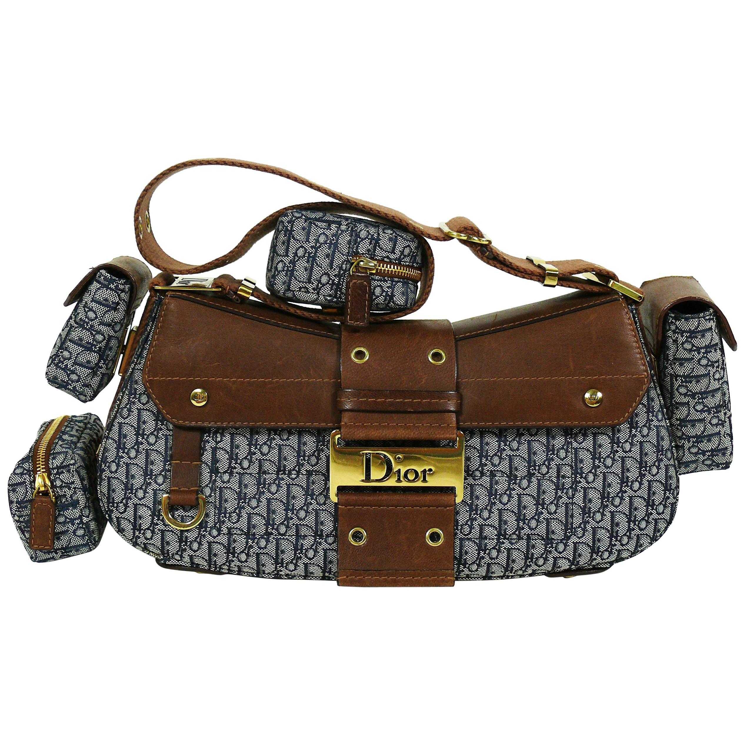 9c0141b7721c Christian Dior Street Chic Columbus Avenue Multipocket Shoulder Hand Bag at  1stdibs