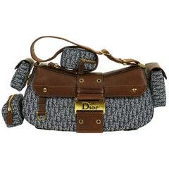 Christian Dior Street Chic Columbus Avenue Multipocket Shoulder Hand Bag