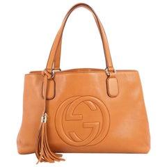Gucci Soho Working Tote Leather Medium