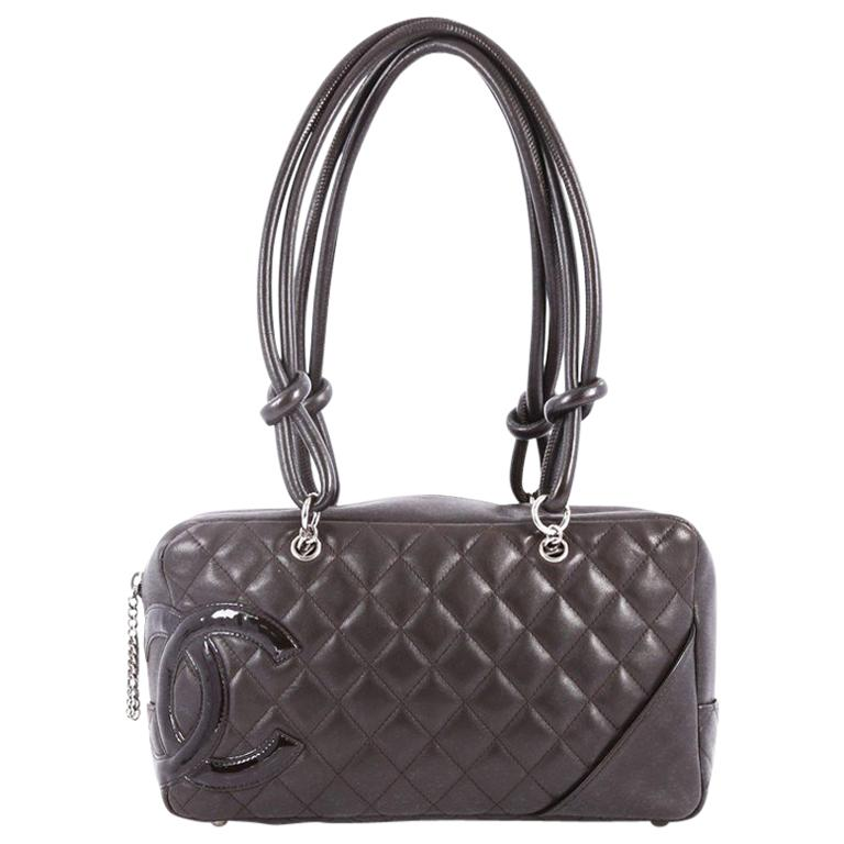 a6229a6d0b4b Chanel Cambon Bowler Bag Quilted Leather Medium at 1stdibs