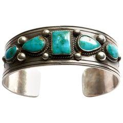 1940s Navajo bracelet/ cuff