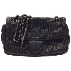 Prada Black Leather Purse