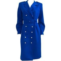 1980s Diane Von Furstenberg Double-Breasted Dress