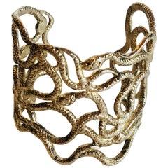 Circa Design Snake Cuff