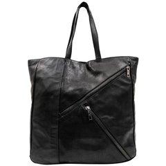 KARL LAGERFELD Tote Bag in Black Leather