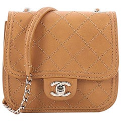 Chanel Citizen Chain Crossbody Bag Quilted Calfskin Mini