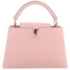 Louis Vuitton Capucines Handbag Leather PM