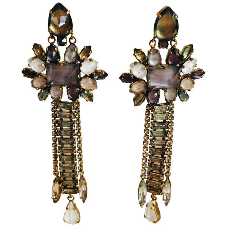 Erickson Beamon 'Sound Garden' Earrings For Sale