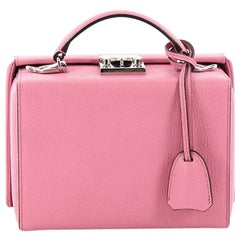 Mark Cross Grace Box Bag Leather Small
