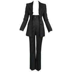 Dolce & Gabbana Vintage Pinstripe Pantsuit