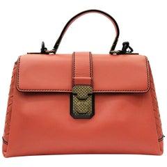 Bottega Veneta Terracotta Calf Leather Bag