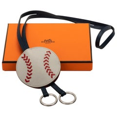 New in  Box Hermes Rare Baseball Keychain
