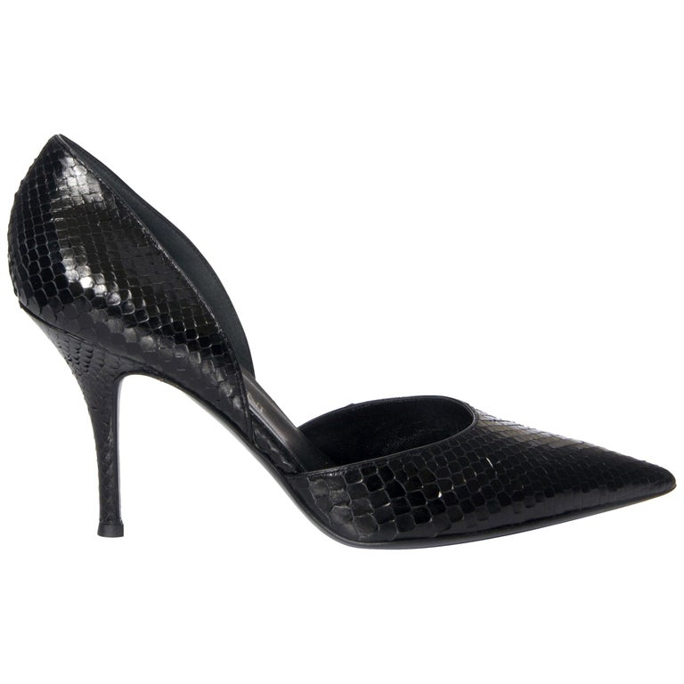 aa16c5b9abf New Vintage Tom Ford for Yves Saint Laurent YSL Python Heels Sz 40 For Sale