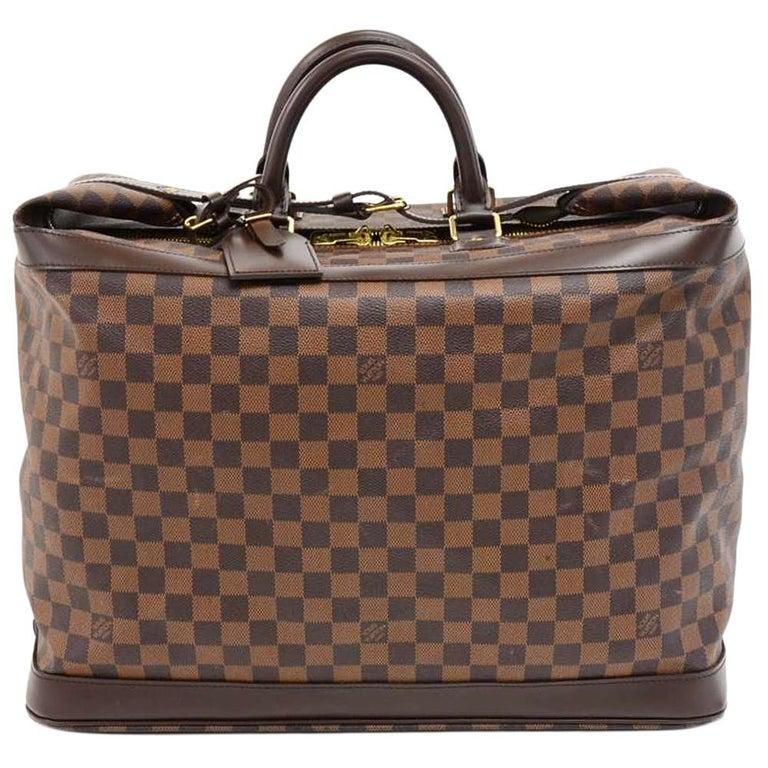 Louis Vuitton Grimaud Damier Ebene Canvas Travel Handbag