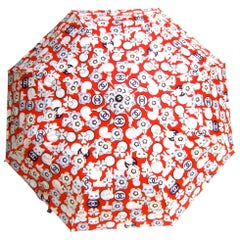 Chanel Cat Theme Umbrella in Chanel Presentation Box circa 21st C