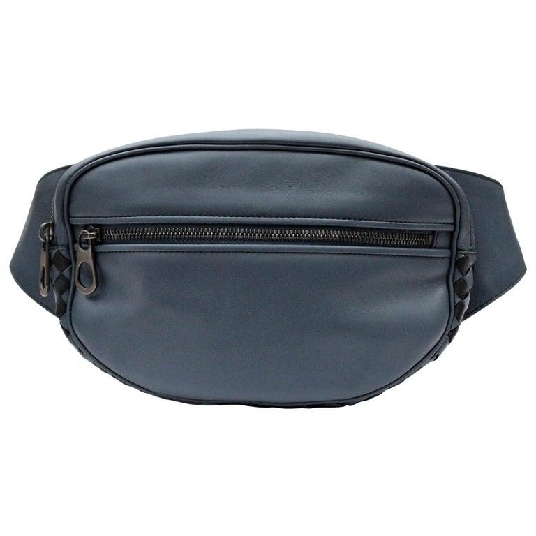 Bottega Veneta Lambskin Leather Belt Bag