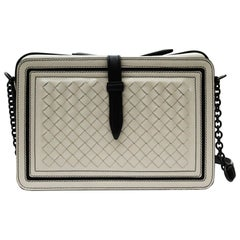 Bottega Veneta Gray Leather Crossbody/Shoulder Bag