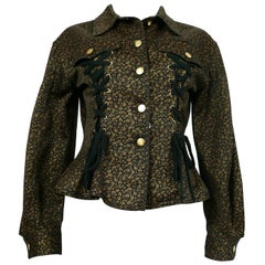 Jean Paul Gaultier Junior Vintage Iconic Corset Style Jacket