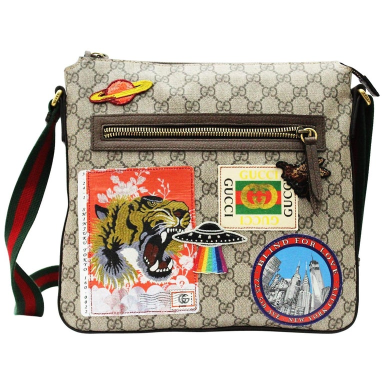 ea018c58a406 Gucci Gucci Courrier soft GG Supreme messenger For Sale .