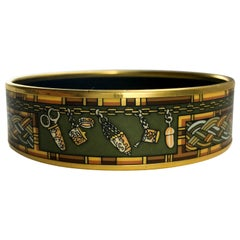 Hermes 'Sewing Kit' Enamel Bangle