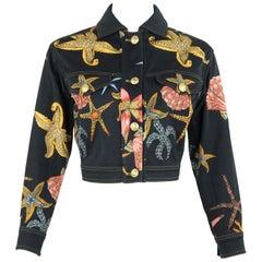 Vintage Gianni Versace Starfish Jacket - Size XS/S