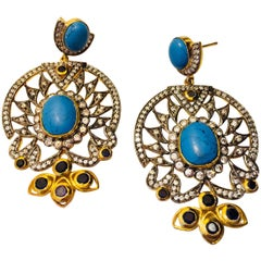 Meghna Jewels Handcrafted Aura Earrings