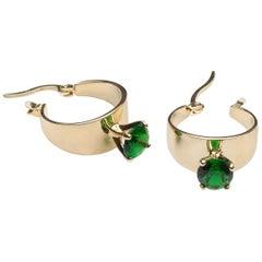 Iosselliani Gold Hoop Earrings