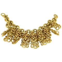 DKNY Donna Karan Chunky Charm Bracelet
