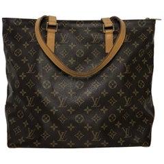 Louis Vuitton Monogram Cabas Mezzo Tote Handbag