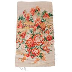 Vintage Japanese Silk Panel
