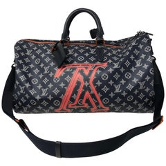 Louis Vuitton Upside Down Keepall Bandouliere 50 Bag